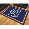 FANMATS MLB - Detroit Tigers 8'x10' Rug