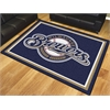 FANMATS MLB - Milwaukee Brewers 8'x10' Rug