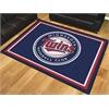 FANMATS MLB - Minnesota Twins 8'x10' Rug
