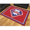 FANMATS MLB - Philadelphia Phillies 8'x10' Rug