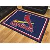 FANMATS MLB - St. Louis Cardinals 8'x10' Rug