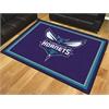 FANMATS NBA - Charlotte Hornets 8'x10' Rug