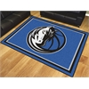 FANMATS NBA - Dallas Mavericks 8'x10' Rug