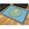 FANMATS NBA - Denver Nuggets 8'x10' Rug