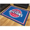 FANMATS NBA - Detroit Pistons 8'x10' Rug