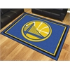 FANMATS NBA - Golden State Warriors 8'x10' Rug