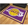 FANMATS NBA - Los Angeles Lakers 8'x10' Rug