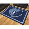 FANMATS NBA - Memphis Grizzlies 8'x10' Rug