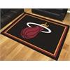 FANMATS NBA - Miami Heat 8'x10' Rug