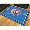 FANMATS NBA - Oklahoma City Thunder 8'x10' Rug