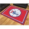 FANMATS NBA - Philadelphia 76ers 8'x10' Rug