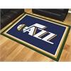 FANMATS NBA - Utah Jazz 8'x10' Rug