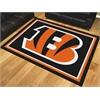 FANMATS NFL - Cincinnati Bengals 8'x10' Rug