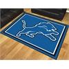 FANMATS NFL - Detroit Lions 8'x10' Rug