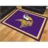 FANMATS NFL - Minnesota Vikings 8'x10' Rug