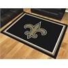 FANMATS NFL - New Orleans Saints 8'x10' Rug