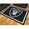 FANMATS NFL - Oakland Raiders 8'x10' Rug