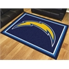 FANMATS NFL - San Diego Chargers 8'x10' Rug