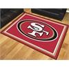 FANMATS NFL - San Francisco 49ers 8'x10' Rug