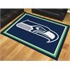 FANMATS NFL - Seattle Seahawks 8'x10' Rug