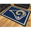 FANMATS NFL - St. Louis Rams 8'x10' Rug