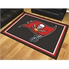 FANMATS NFL - Tampa Bay Buccaneers 8'x10' Rug
