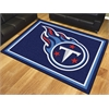 FANMATS NFL - Tennessee Titans 8'x10' Rug