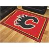FANMATS NHL - Calgary Flames 8'x10' Rug