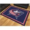 FANMATS NHL - Columbus Blue Jackets 8'x10' Rug