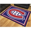 FANMATS NHL - Montreal Canadiens 8'x10' Rug