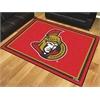 FANMATS NHL - Ottawa Senators 8'x10' Rug