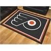 FANMATS NHL - Philadelphia Flyers 8'x10' Rug