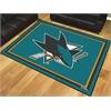 FANMATS NHL - San Jose Sharks 8'x10' Rug