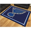 FANMATS NHL - St. Louis Blues 8'x10' Rug