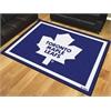 FANMATS NHL - Toronto Maple Leafs 8'x10' Rug