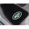 "FANMATS NFL - New York Jets 2-piece Embroidered Car Mats 18""x27"""