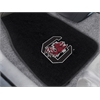 "FANMATS South Carolina 2-piece Embroidered Car Mats 18""x27"""