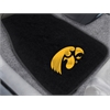 "FANMATS Iowa 2-piece Embroidered Car Mats 18""x27"""
