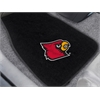"FANMATS Louisville 2-piece Embroidered Car Mats 18""x27"""
