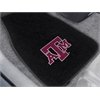 "FANMATS Texas A&M 2-piece Embroidered Car Mats 18""x27"""