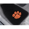 "FANMATS Clemson 2-piece Embroidered Car Mats 18""x27"""