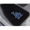 "FANMATS MLB - Los Angeles Dodgers 2-piece Embroidered Car Mats 18""x27"""