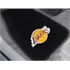 "FANMATS NBA - Los Angeles Lakers 2-piece Embroidered Car Mats 18""x27"""