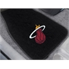 "FANMATS NBA - Miami Heat 2-piece Embroidered Car Mats 18""x27"""
