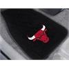 "FANMATS NBA - Chicago Bulls 2-piece Embroidered Car Mats 18""x27"""