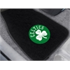 "FANMATS NBA - Boston Celtics 2-piece Embroidered Car Mats 18""x27"""