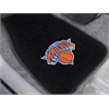 "FANMATS NBA - New York Knicks 2-piece Embroidered Car Mats 18""x27"""