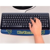 "FANMATS West Virginia Wrist Rest 2""x18"""