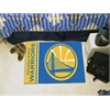 "FANMATS NBA - Golden State Warriors Uniform Inspired Starter Rug 19""x30"""