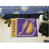 "FANMATS NBA - Los Angeles Lakers Uniform Inspired Starter Rug 19""x30"""